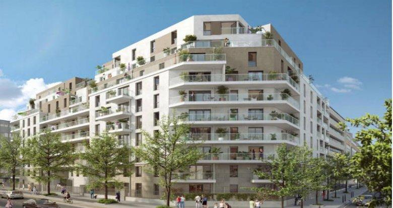 Achat / Vente programme immobilier neuf Reuil-Malmaison à 10 minutes à pied du RER A (92500) - Réf. 4255