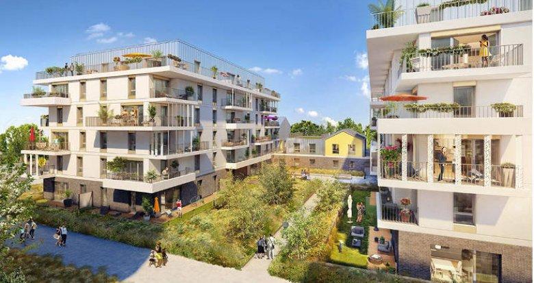 Achat / Vente programme immobilier neuf Rueil-Malmaison au cœur du quartier Buzenval (92500) - Réf. 3847