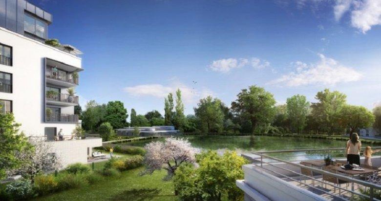 Achat / Vente programme immobilier neuf Rueil-Malmaison centre-ville face au lac (92500) - Réf. 1634