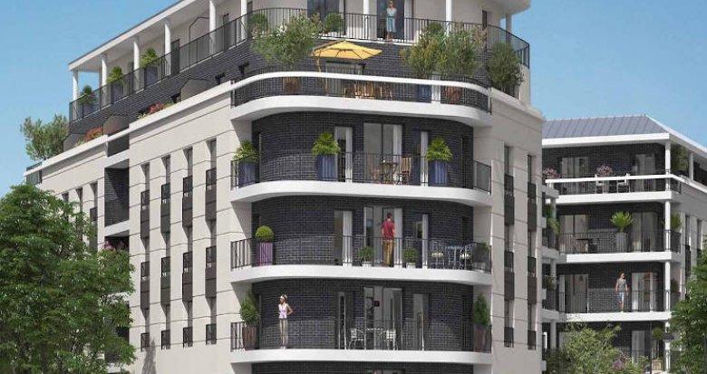 Achat / Vente programme immobilier neuf Rueil-Malmaison proche écoles et RER A (92500) - Réf. 4236