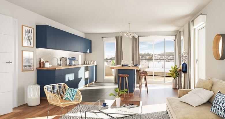 Achat / Vente programme immobilier neuf Rueil-Malmaison quartier l'Arsenal (92500) - Réf. 2740