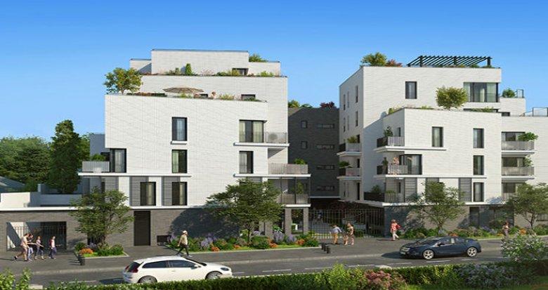 Achat / Vente programme immobilier neuf Rueil-Malmaison quartier Richelieu-Chataigneraie (92500) - Réf. 4372