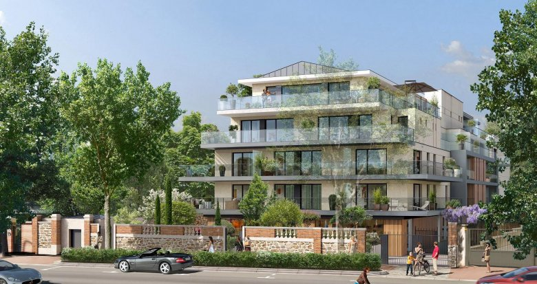 Achat / Vente programme immobilier neuf Saint-Cloud face au jardin des Avelines (92210) - Réf. 4016