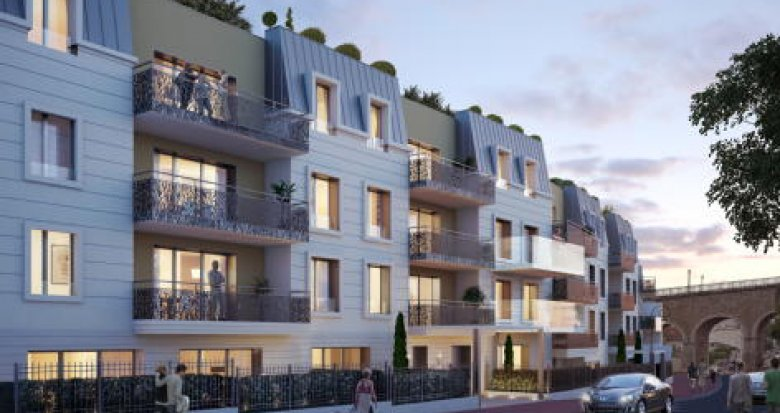 Achat / Vente programme immobilier neuf Saint-Cloud proche stade des Coteaux (92210) - Réf. 2788