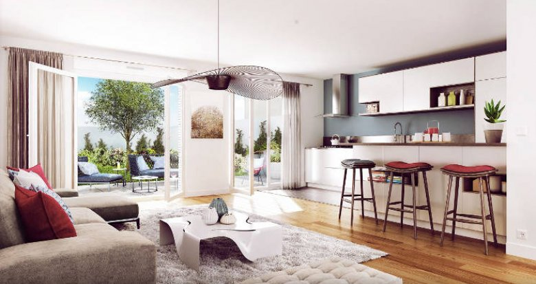 Achat / Vente programme immobilier neuf Suresnes à 2 minutes de la Défense (92150) - Réf. 3390