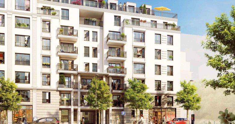 Achat / Vente programme immobilier neuf Suresnes proche centre-ville et bords de Seine (92150) - Réf. 1946