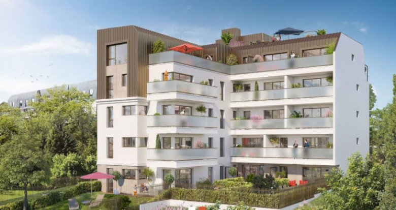 Achat / Vente programme immobilier neuf Suresnes proche tramway (92150) - Réf. 3552