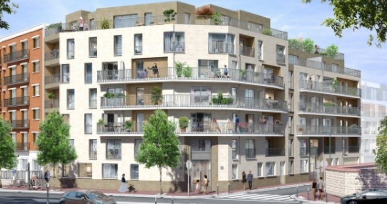 Achat / Vente programme immobilier neuf Vanves proche Gare Malakoff (92170) - Réf. 2635
