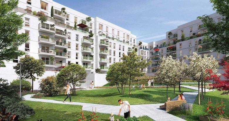 Achat / Vente programme immobilier neuf Villeneuve-la-Garenne face au centre commercial Qwartz (92390) - Réf. 1956