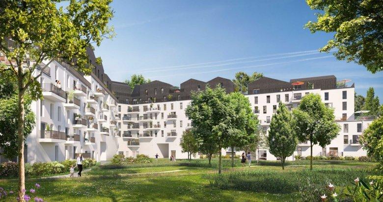 Achat / Vente programme immobilier neuf Villeneuve-la-Garenne La Bongarde (92390) - Réf. 2607