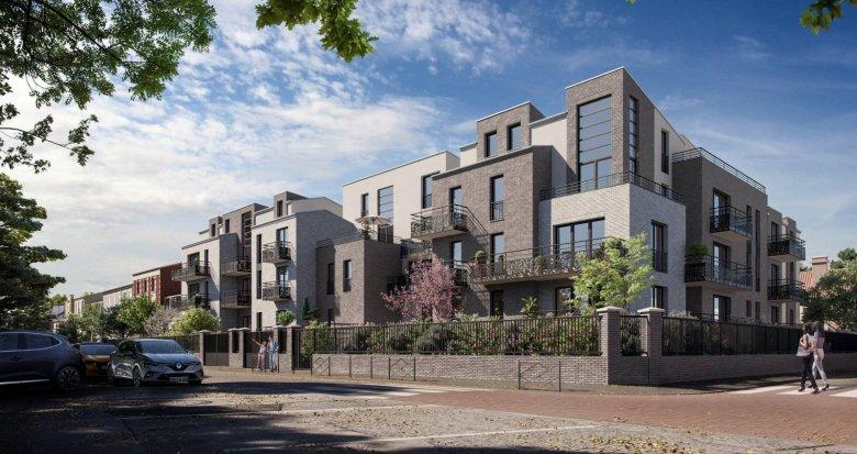 Achat / Vente programme immobilier neuf Villeneuve-la-Garenne proche du tram T1 (92390) - Réf. 6106